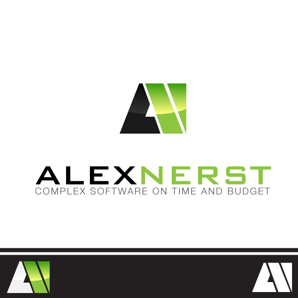 Logo Design by lumerb - Entry No. 69 in the Logo Design Contest Artistic Logo Design for Alex Nerst.