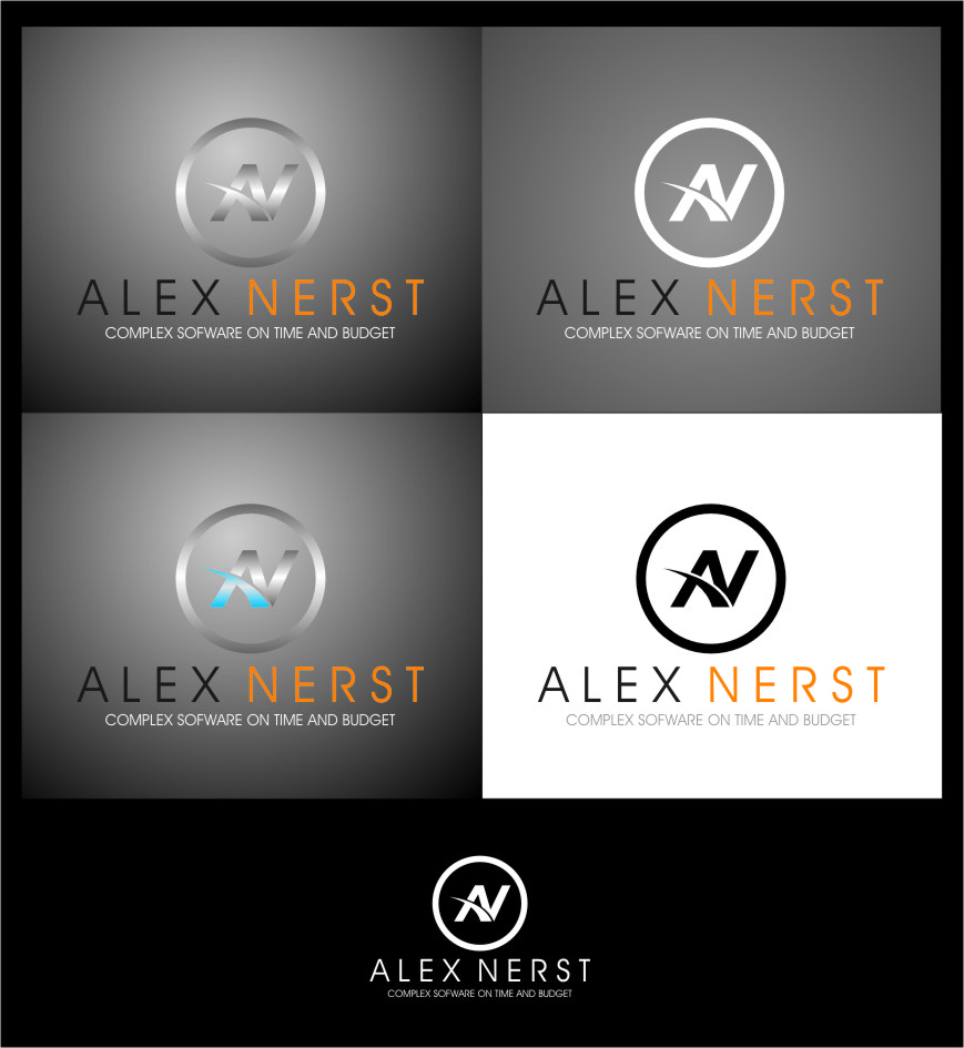 Logo Design by Ngepet_art - Entry No. 70 in the Logo Design Contest Artistic Logo Design for Alex Nerst.