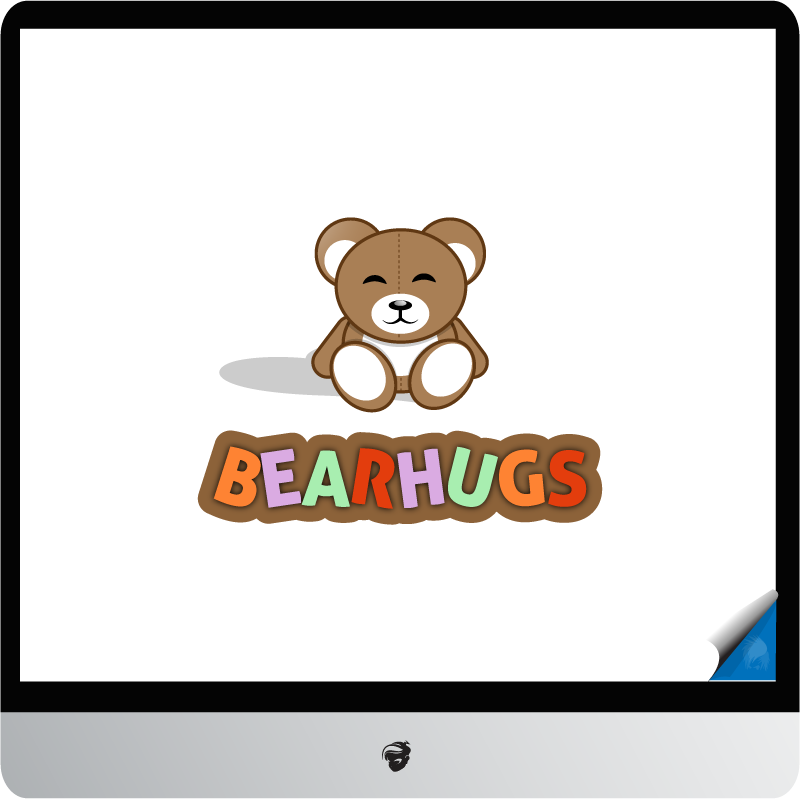 Logo Design by zesthar - Entry No. 3 in the Logo Design Contest Inspiring Logo Design for BearHugs.