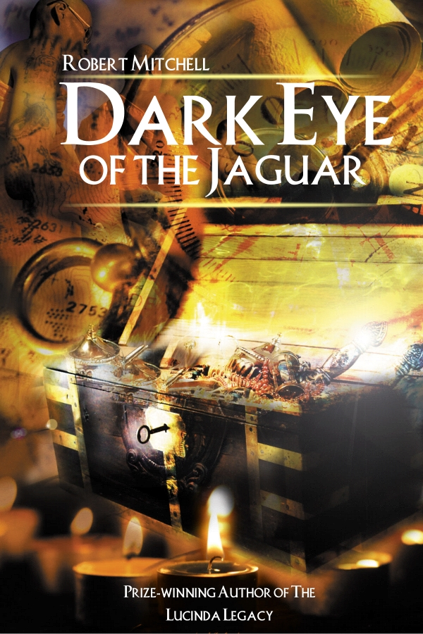 Book Cover Design by Private User - Entry No. 16 in the Book Cover Design Contest Imaginative Book Cover Design for Dark Eye of the Jaguar.