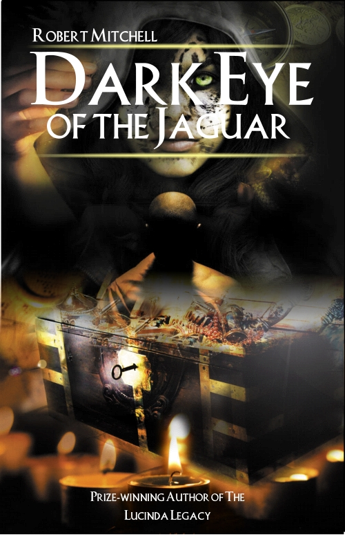 Book Cover Design by Private User - Entry No. 17 in the Book Cover Design Contest Imaginative Book Cover Design for Dark Eye of the Jaguar.