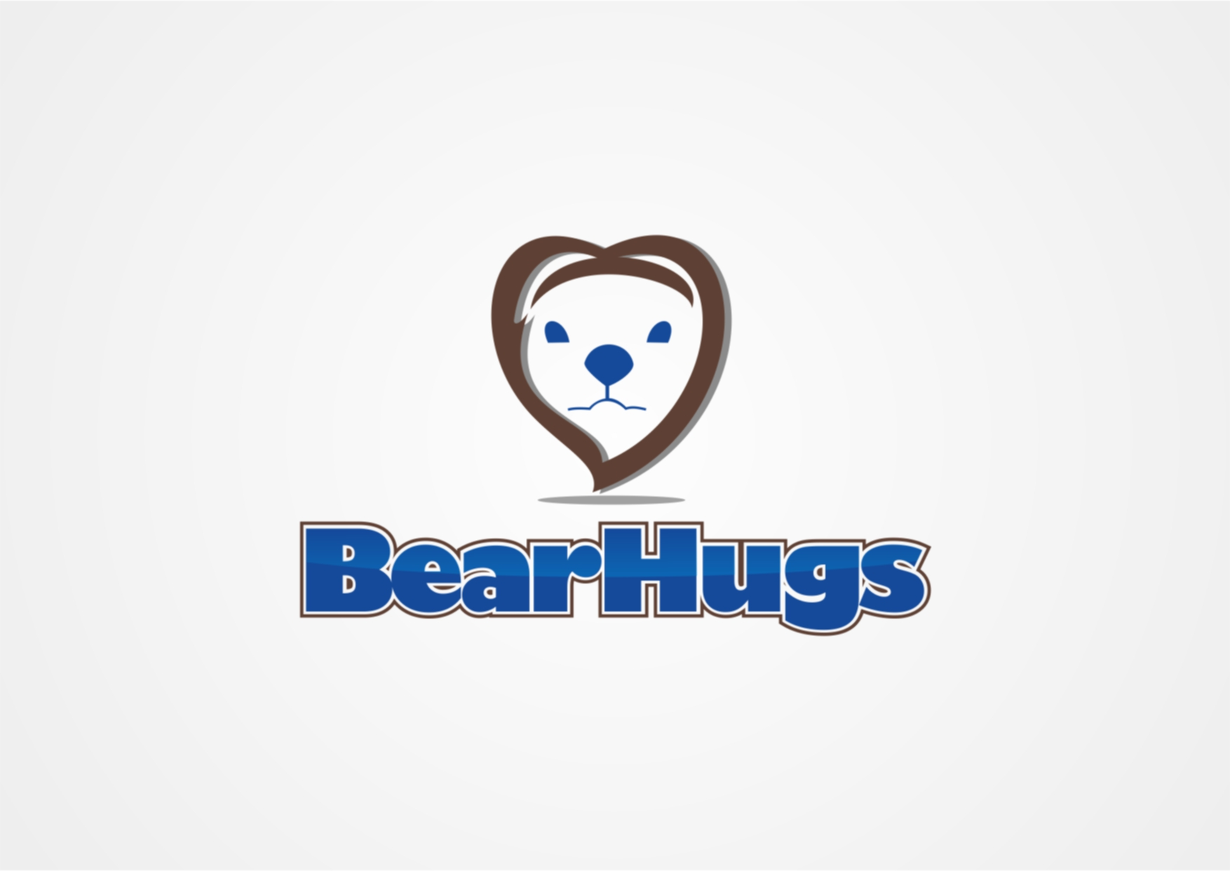 Logo Design by Private User - Entry No. 5 in the Logo Design Contest Inspiring Logo Design for BearHugs.