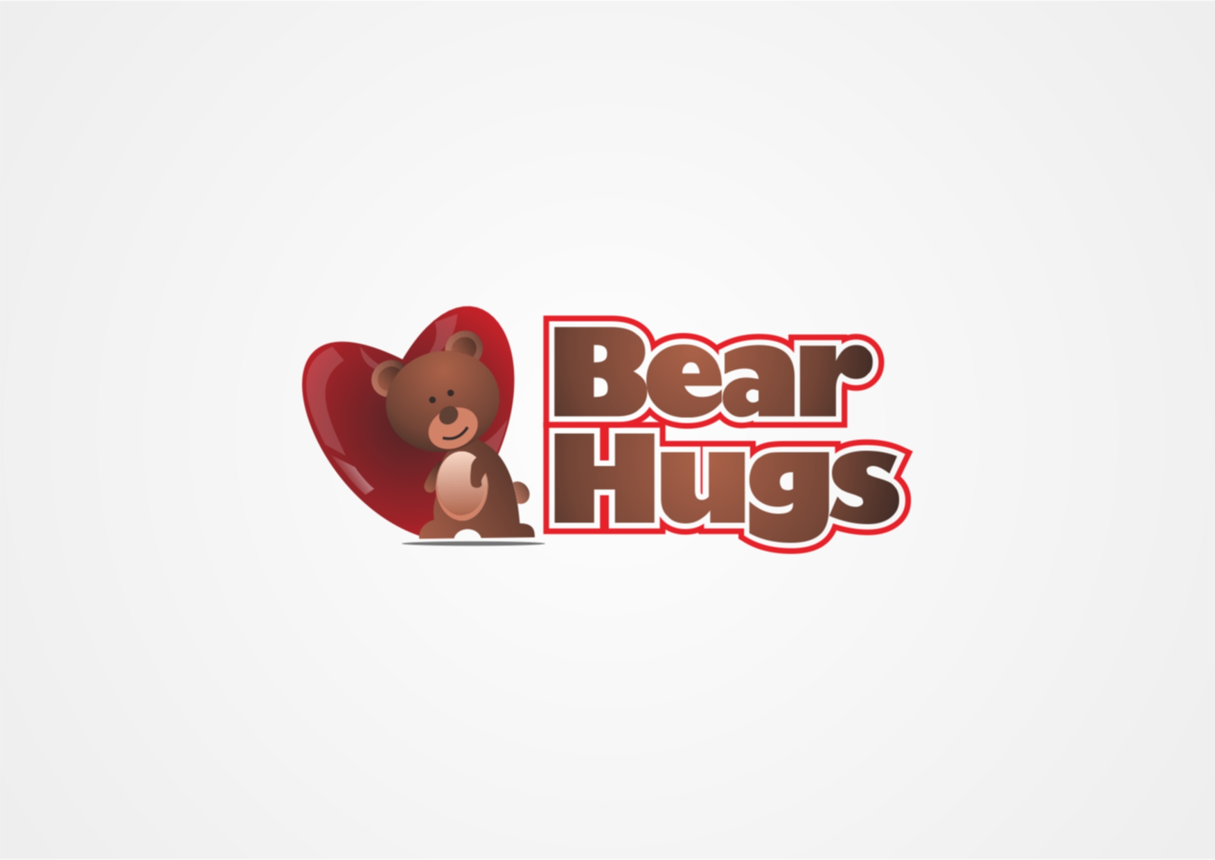 Logo Design by Private User - Entry No. 8 in the Logo Design Contest Inspiring Logo Design for BearHugs.