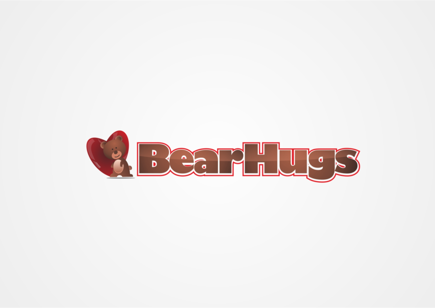 Logo Design by Private User - Entry No. 9 in the Logo Design Contest Inspiring Logo Design for BearHugs.