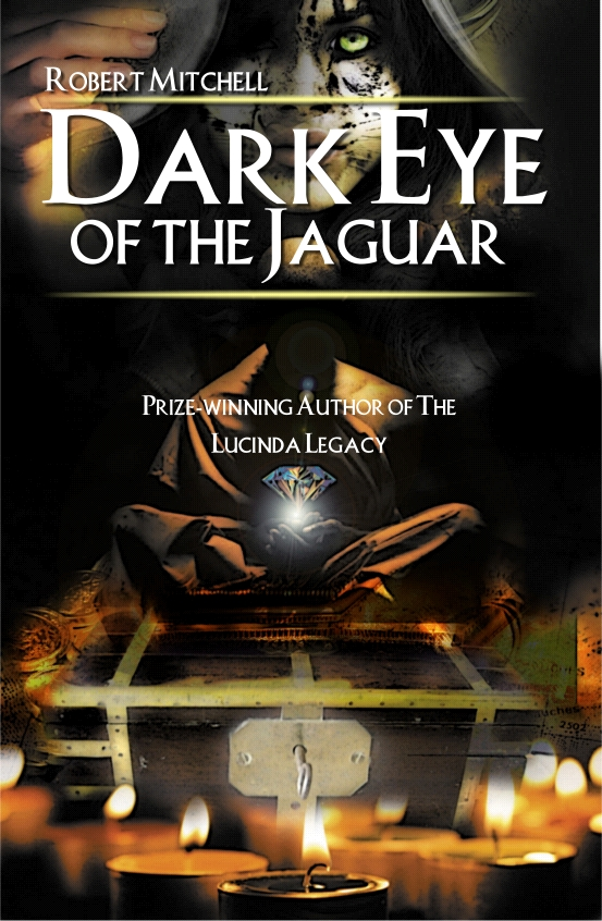Book Cover Design by Private User - Entry No. 18 in the Book Cover Design Contest Imaginative Book Cover Design for Dark Eye of the Jaguar.