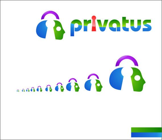 Logo Design by RasYa Muhammad Athaya - Entry No. 326 in the Logo Design Contest New Logo Design for privatus.