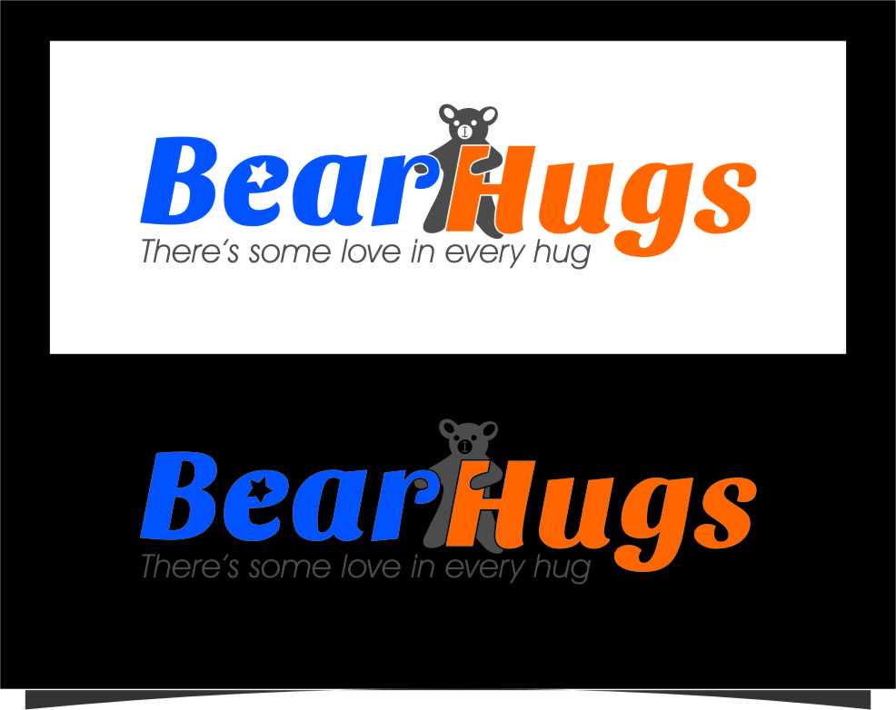 Logo Design by RoSyid Rono-Rene On Java - Entry No. 10 in the Logo Design Contest Inspiring Logo Design for BearHugs.