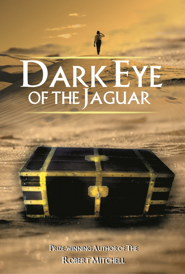 Book Cover Design by Private User - Entry No. 21 in the Book Cover Design Contest Imaginative Book Cover Design for Dark Eye of the Jaguar.