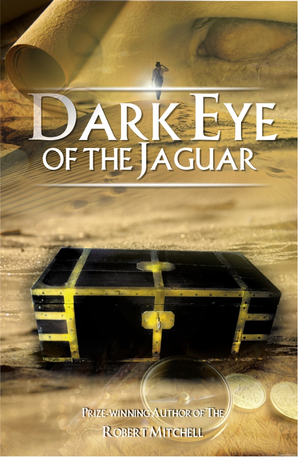 Book Cover Design by Private User - Entry No. 22 in the Book Cover Design Contest Imaginative Book Cover Design for Dark Eye of the Jaguar.