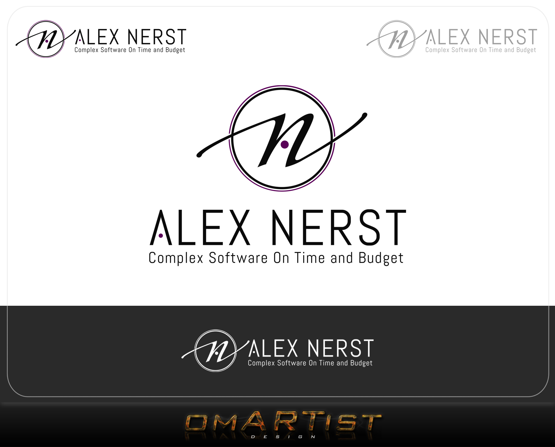 Logo Design by omARTist - Entry No. 90 in the Logo Design Contest Artistic Logo Design for Alex Nerst.