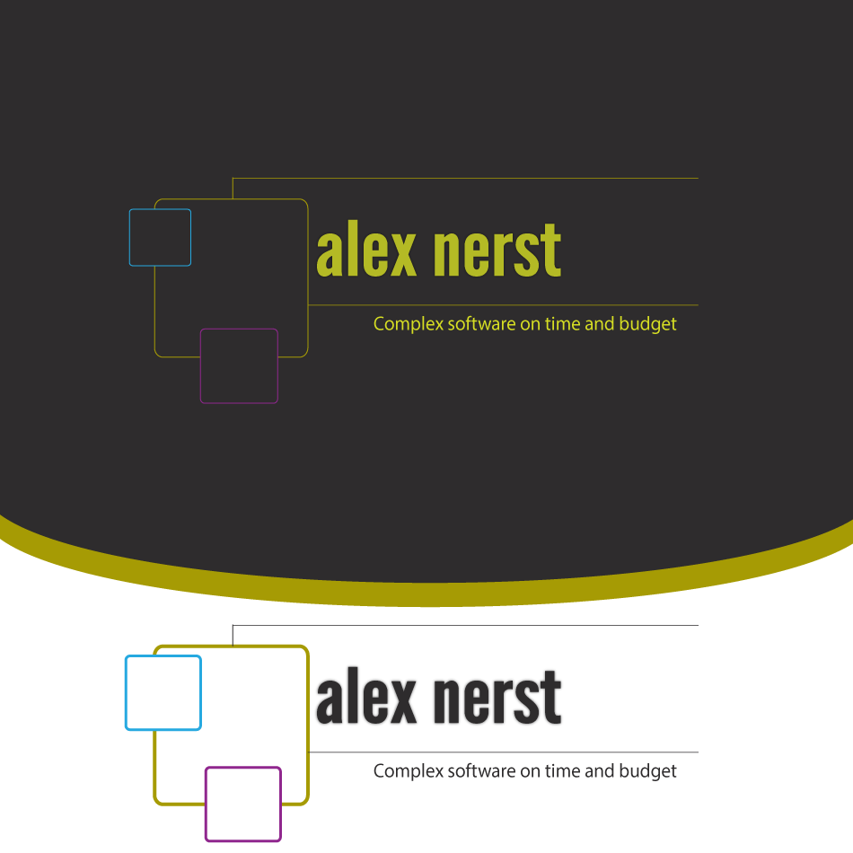 Logo Design by moonflower - Entry No. 92 in the Logo Design Contest Artistic Logo Design for Alex Nerst.