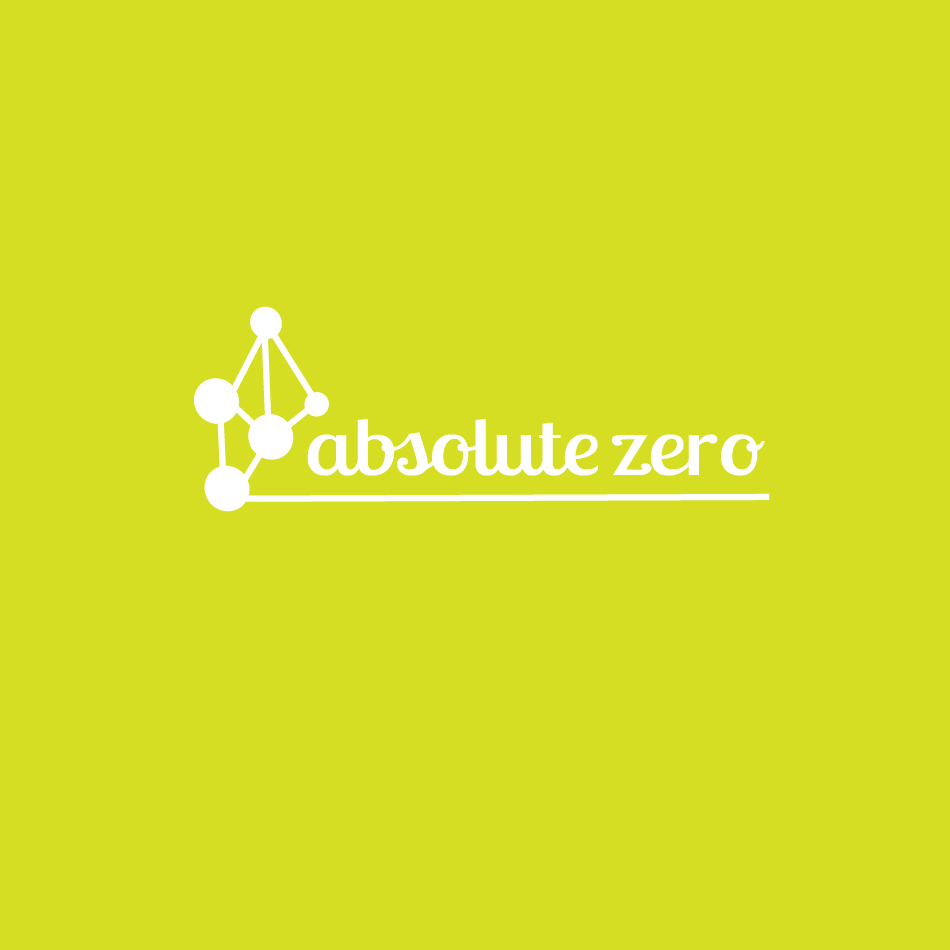 Logo Design by moonflower - Entry No. 36 in the Logo Design Contest Imaginative Logo Design for Absolute Zero.