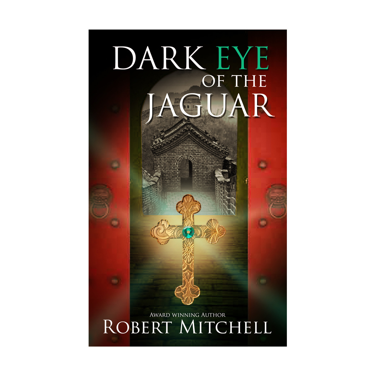 Book Cover Design by storm - Entry No. 24 in the Book Cover Design Contest Imaginative Book Cover Design for Dark Eye of the Jaguar.