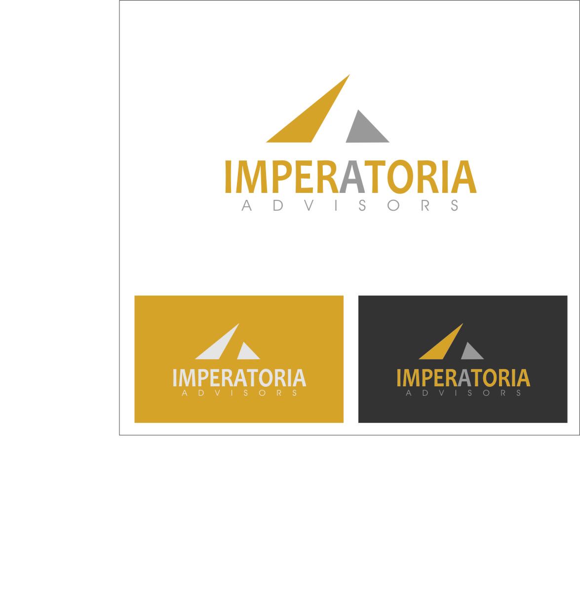Logo Design by RasYa Muhammad Athaya - Entry No. 24 in the Logo Design Contest Unique Logo Design Wanted for Imperatoria Advisors.