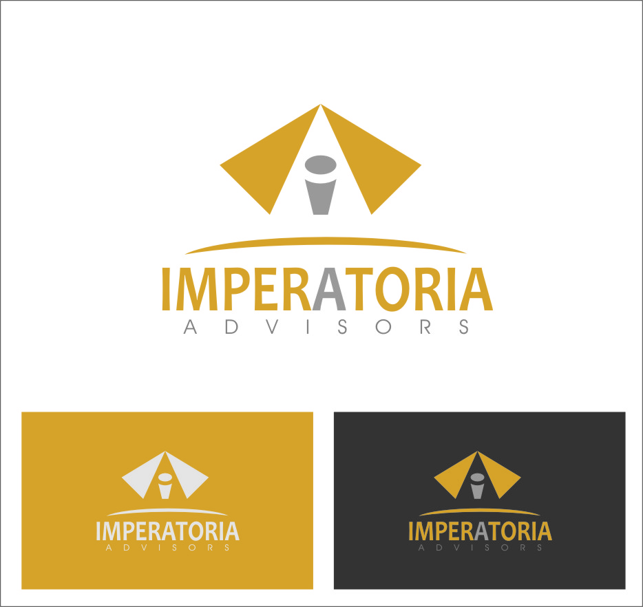 Logo Design by Ngepet_art - Entry No. 26 in the Logo Design Contest Unique Logo Design Wanted for Imperatoria Advisors.