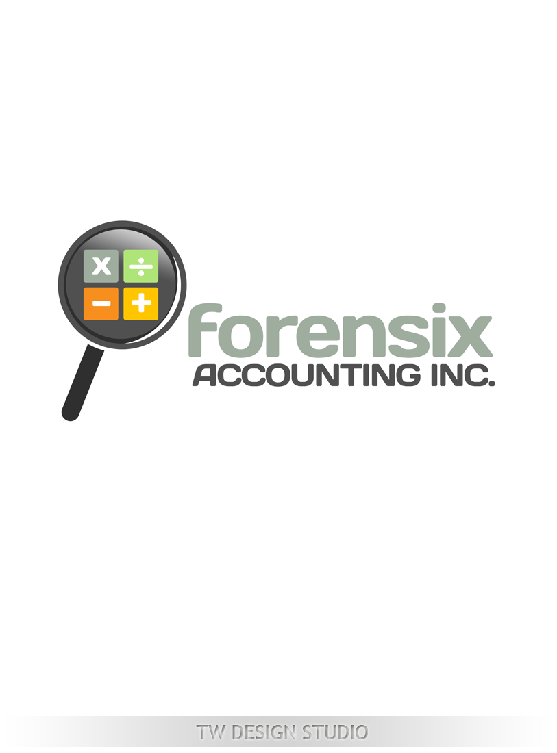 Logo Design by Private User - Entry No. 21 in the Logo Design Contest FORENSIX ACCOUNTING INC. Logo Design.