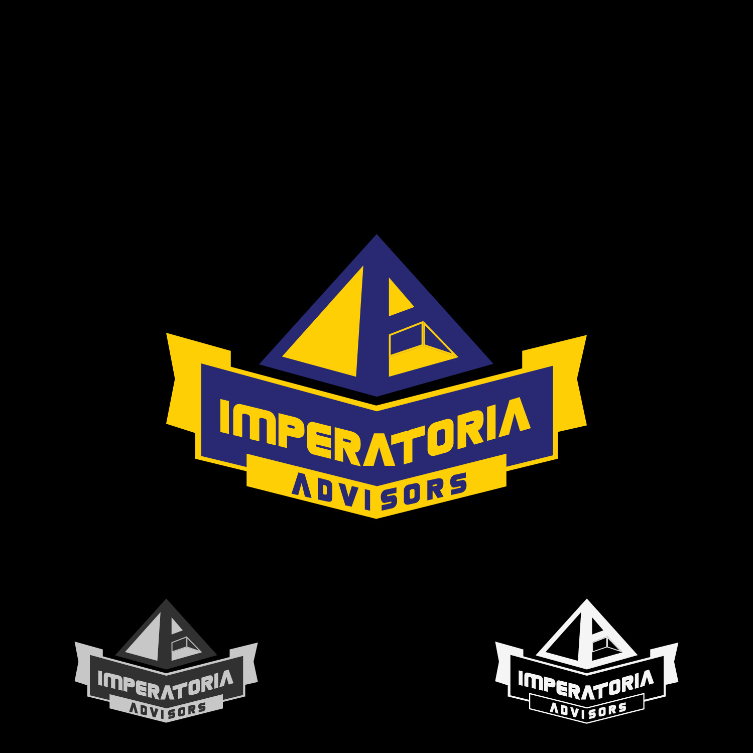 Logo Design by lagalag - Entry No. 27 in the Logo Design Contest Unique Logo Design Wanted for Imperatoria Advisors.