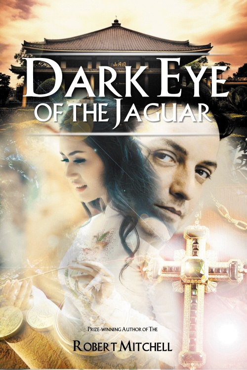 Book Cover Design by Private User - Entry No. 25 in the Book Cover Design Contest Imaginative Book Cover Design for Dark Eye of the Jaguar.