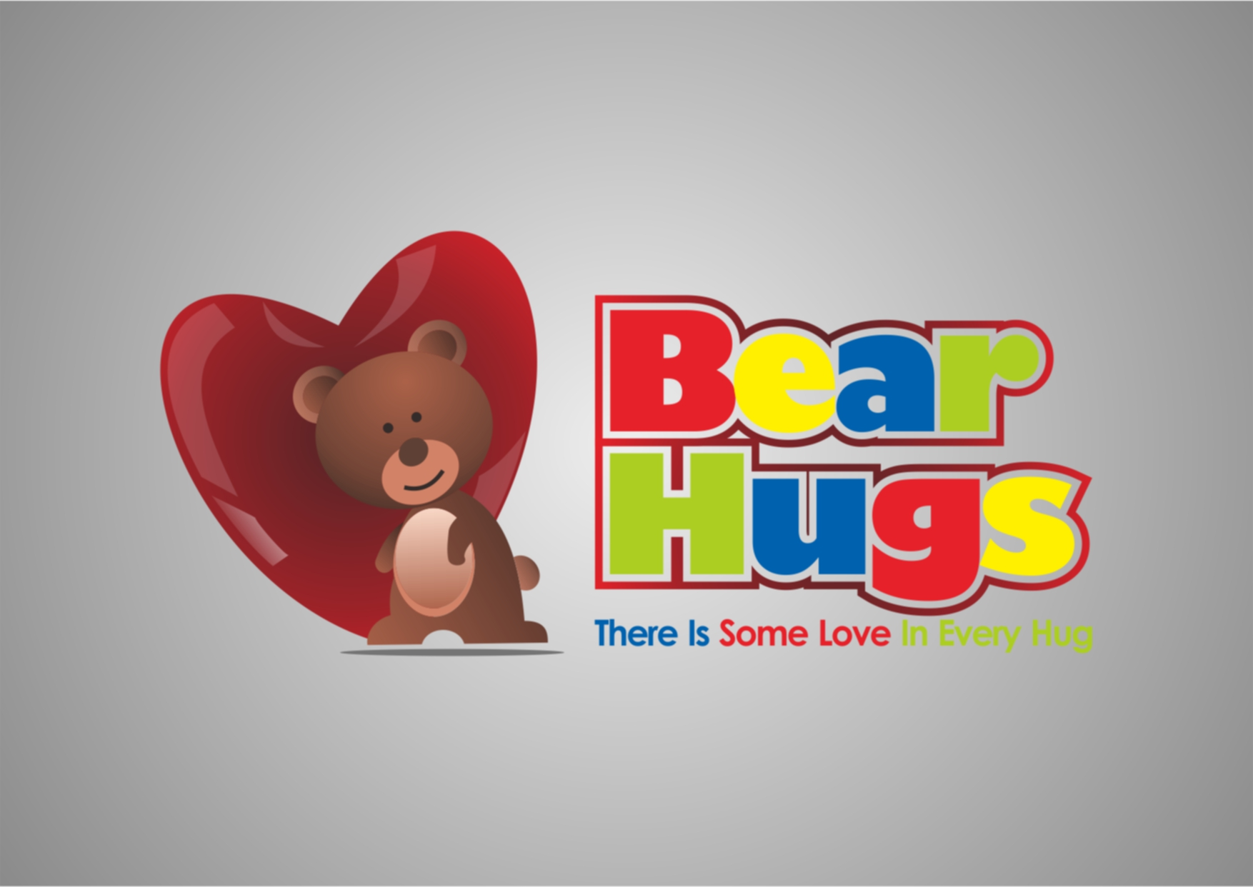 Logo Design by Private User - Entry No. 11 in the Logo Design Contest Inspiring Logo Design for BearHugs.