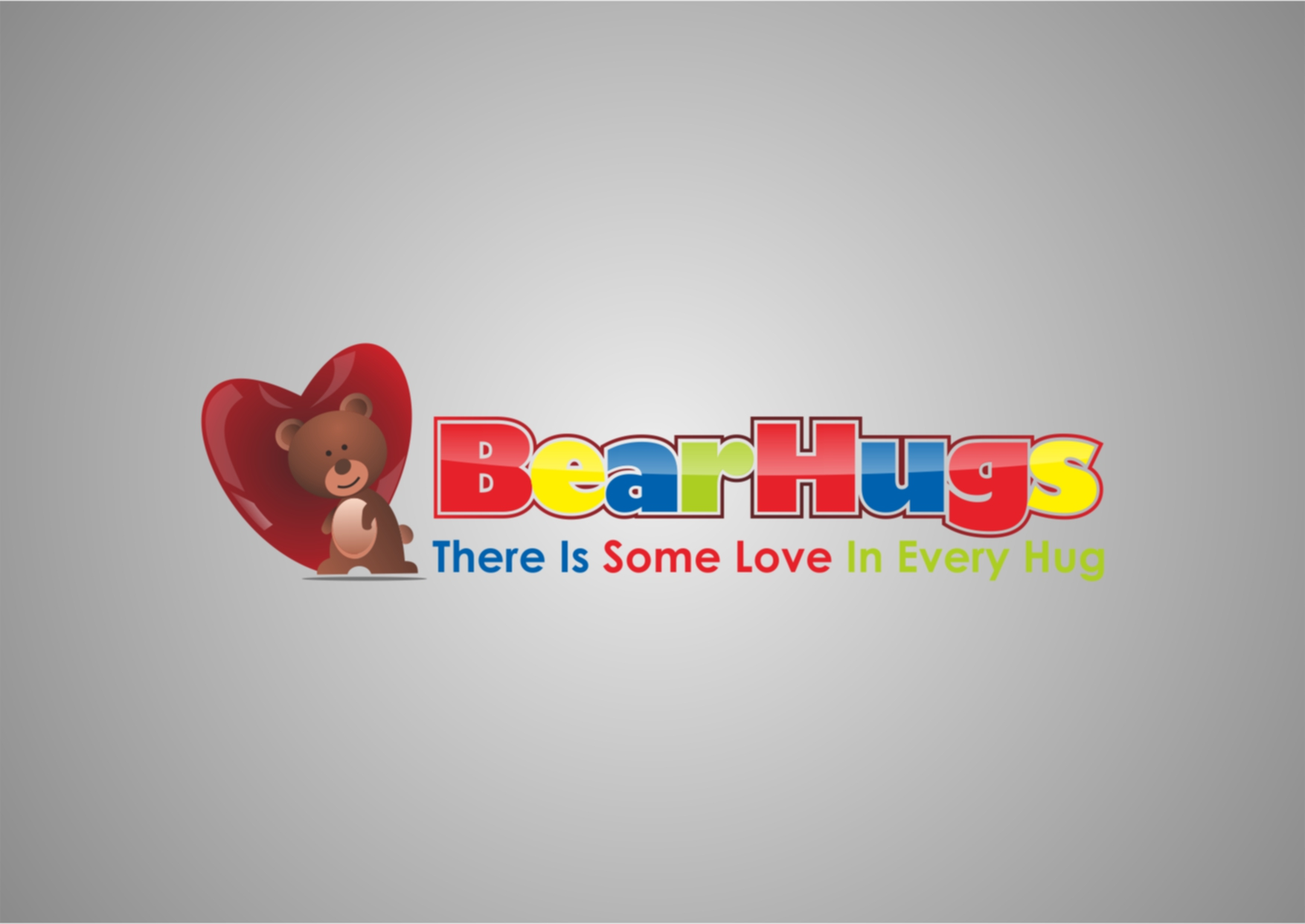 Logo Design by Private User - Entry No. 12 in the Logo Design Contest Inspiring Logo Design for BearHugs.