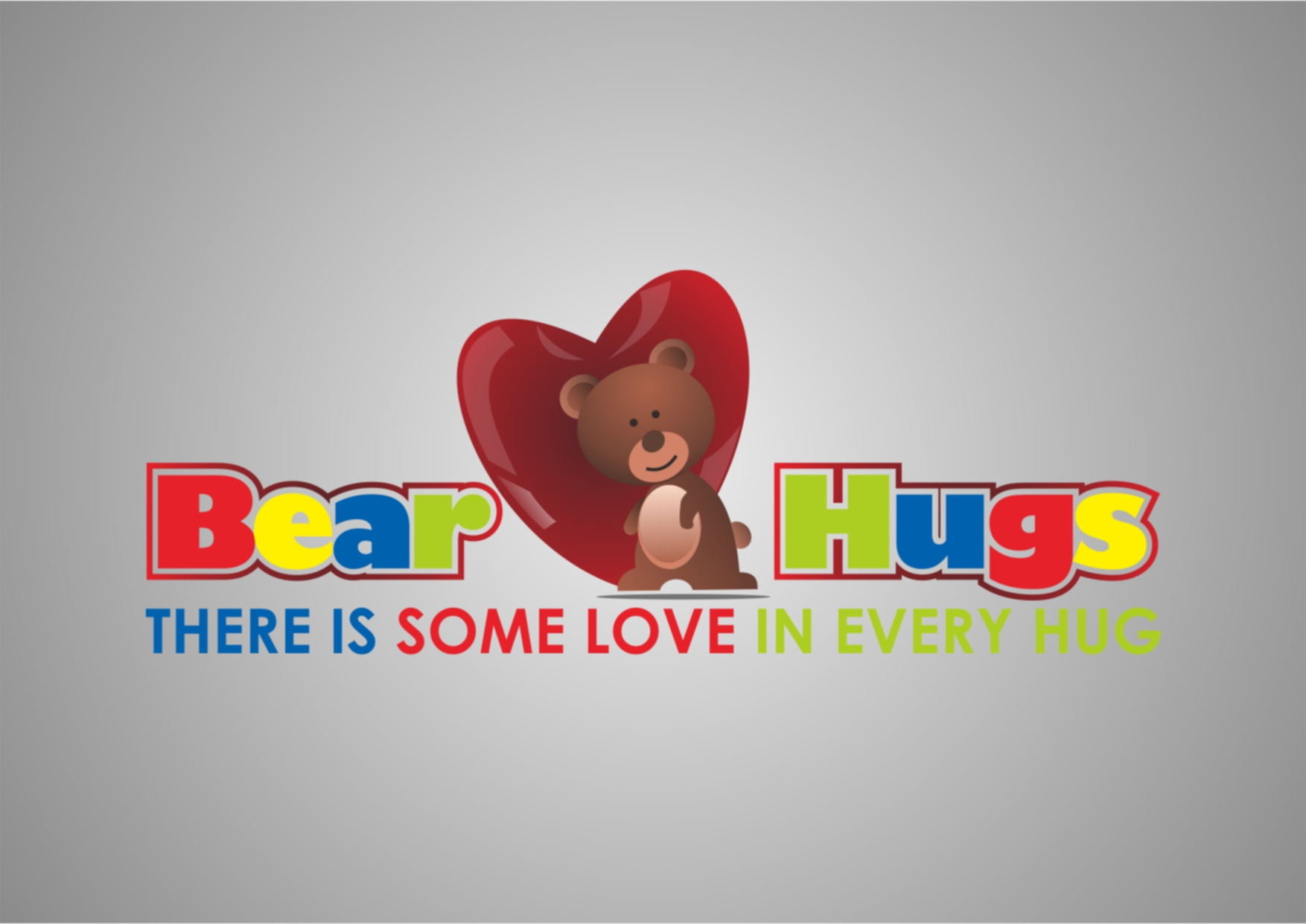 Logo Design by Private User - Entry No. 13 in the Logo Design Contest Inspiring Logo Design for BearHugs.