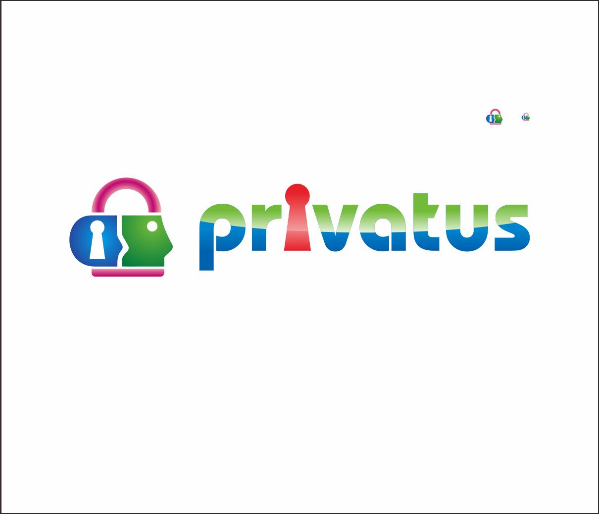 Logo Design by Armada Jamaluddin - Entry No. 329 in the Logo Design Contest New Logo Design for privatus.