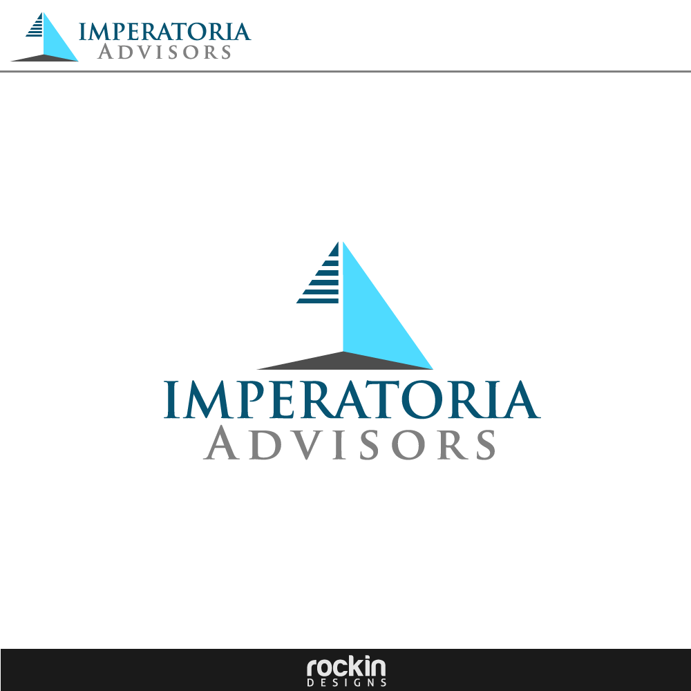 Logo Design by rockin - Entry No. 31 in the Logo Design Contest Unique Logo Design Wanted for Imperatoria Advisors.