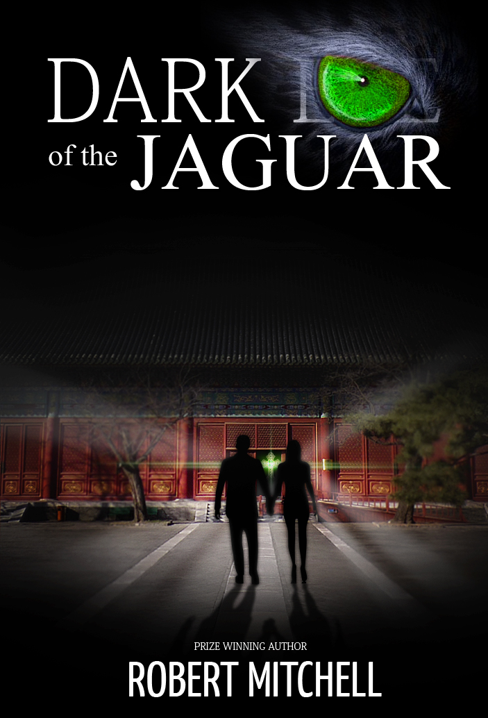 Book Cover Design by Jan Chua - Entry No. 27 in the Book Cover Design Contest Imaginative Book Cover Design for Dark Eye of the Jaguar.