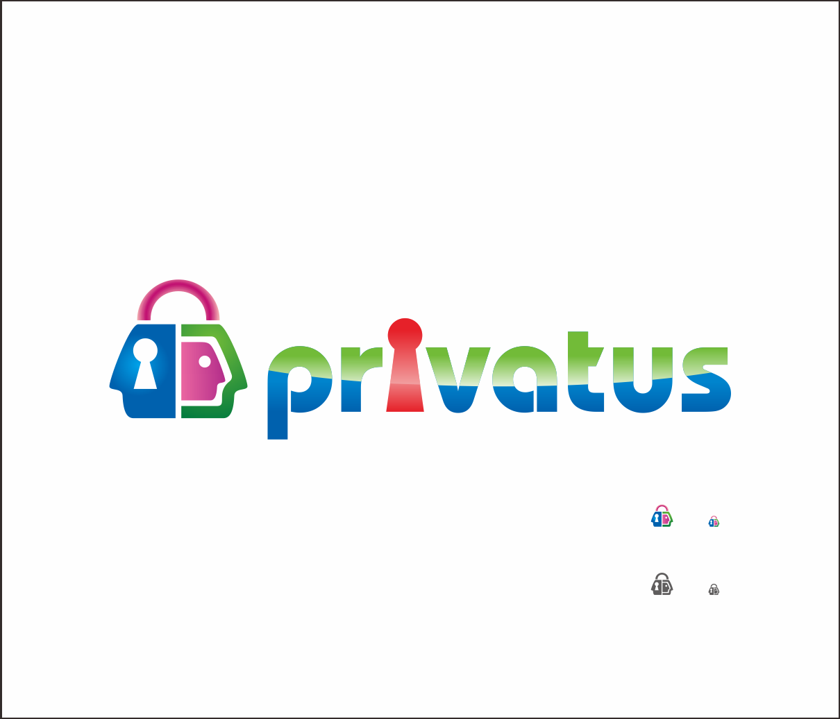 Logo Design by Armada Jamaluddin - Entry No. 330 in the Logo Design Contest New Logo Design for privatus.