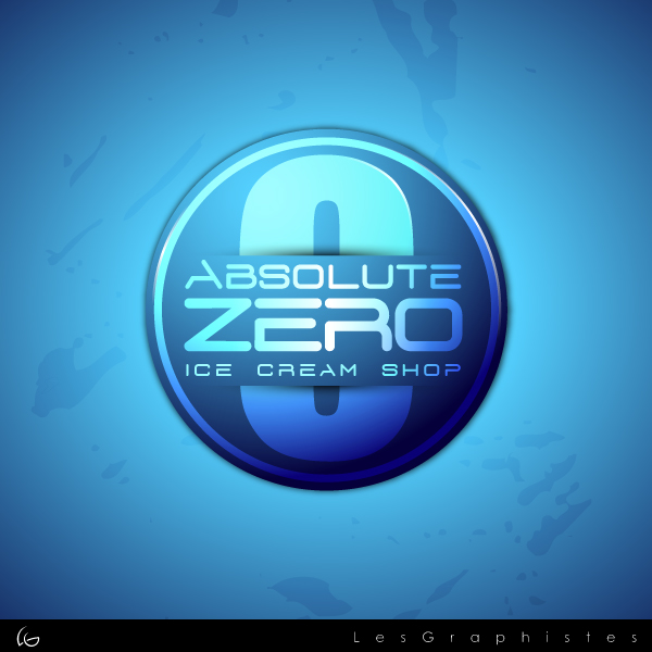Logo Design by Les-Graphistes - Entry No. 47 in the Logo Design Contest Imaginative Logo Design for Absolute Zero.