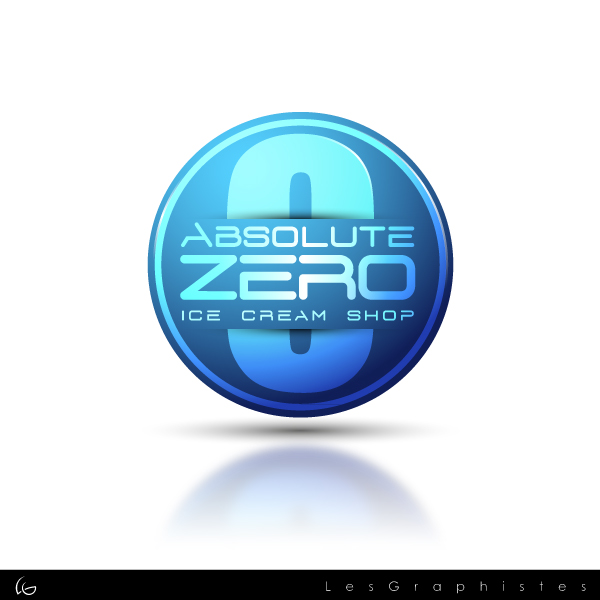 Logo Design by Les-Graphistes - Entry No. 48 in the Logo Design Contest Imaginative Logo Design for Absolute Zero.