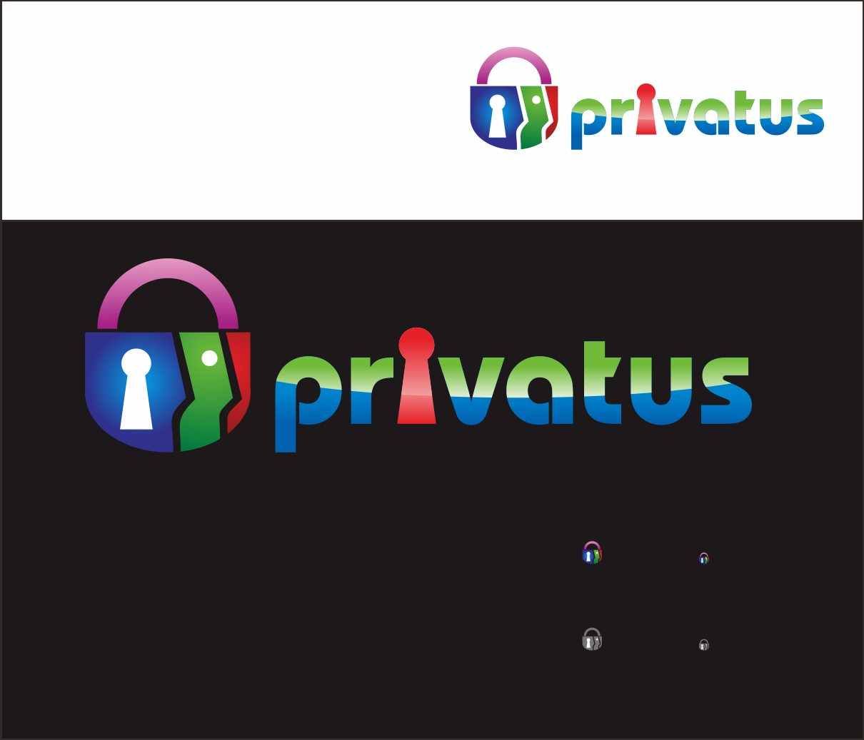 Logo Design by Armada Jamaluddin - Entry No. 332 in the Logo Design Contest New Logo Design for privatus.