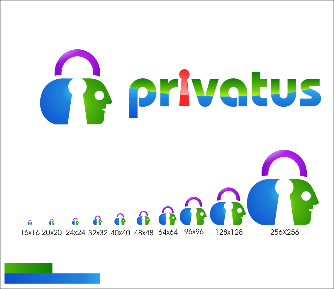 Logo Design by Ngepet_art - Entry No. 333 in the Logo Design Contest New Logo Design for privatus.