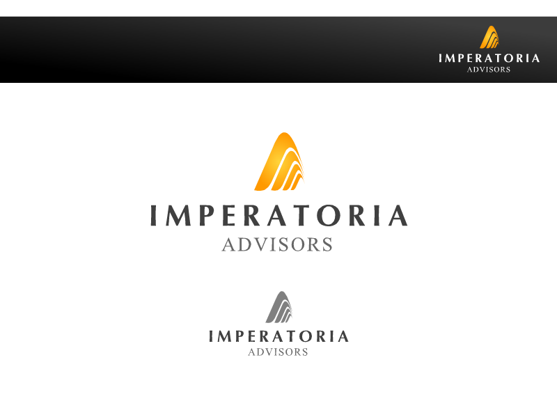 Logo Design by Tathastu Sharma - Entry No. 32 in the Logo Design Contest Unique Logo Design Wanted for Imperatoria Advisors.