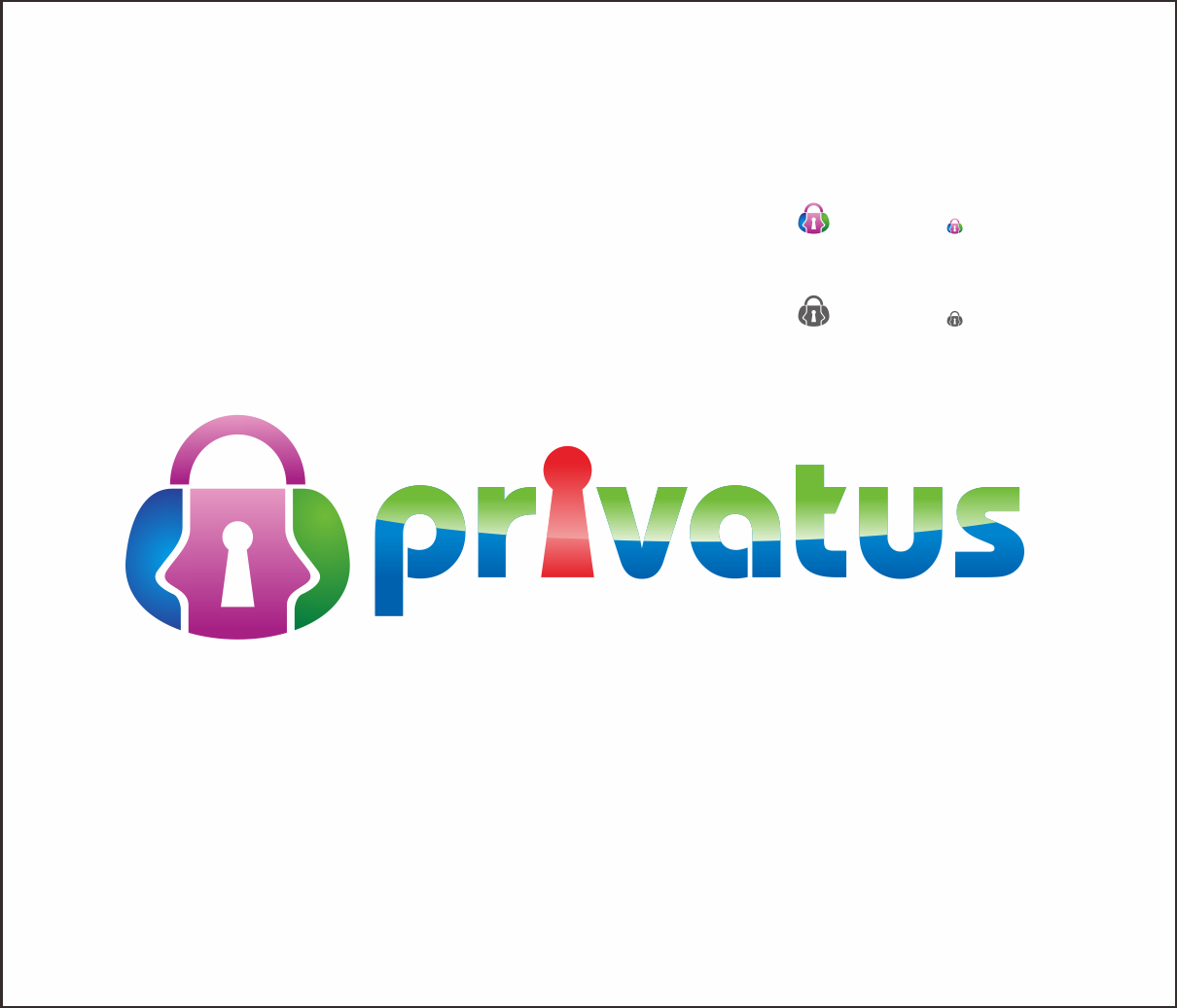Logo Design by Armada Jamaluddin - Entry No. 334 in the Logo Design Contest New Logo Design for privatus.