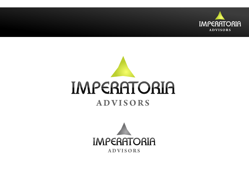 Logo Design by Tathastu Sharma - Entry No. 34 in the Logo Design Contest Unique Logo Design Wanted for Imperatoria Advisors.