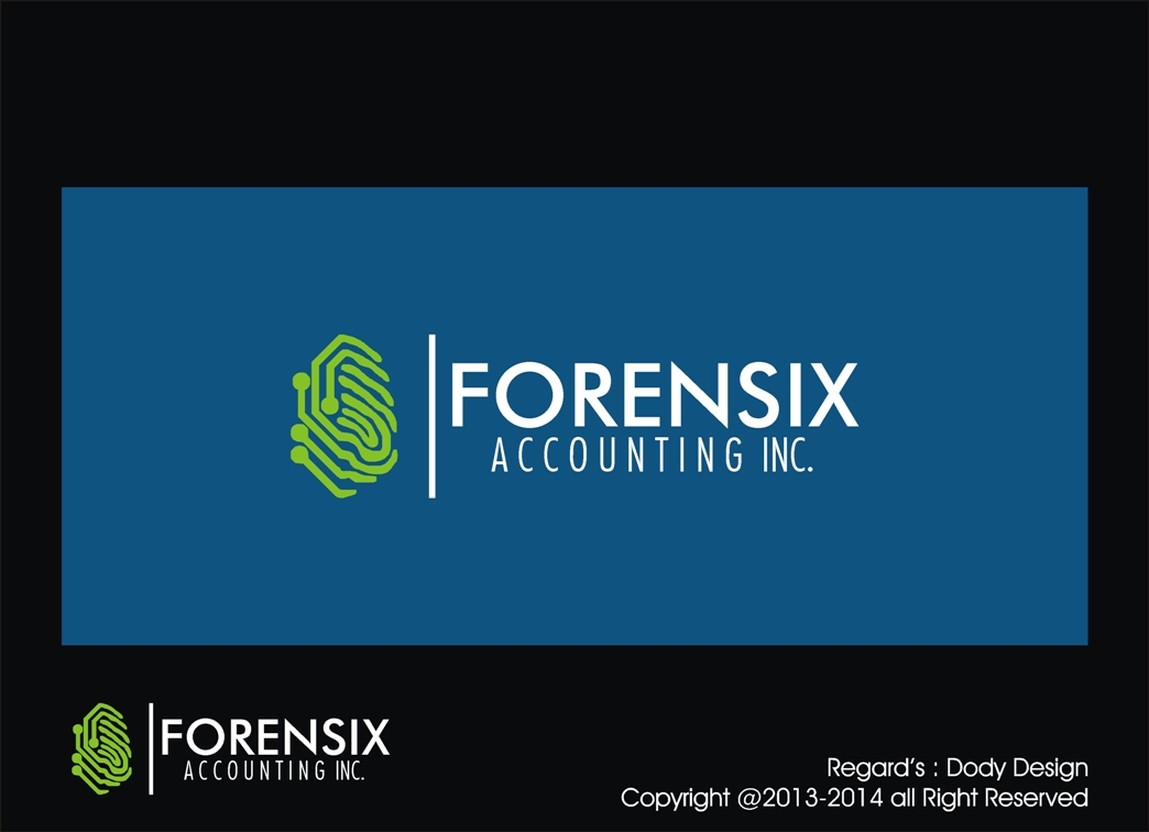 Logo Design by Dody Setiyawan - Entry No. 27 in the Logo Design Contest FORENSIX ACCOUNTING INC. Logo Design.