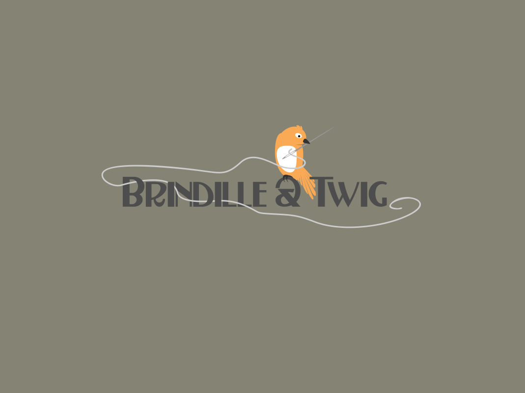 Logo Design by Chris Frederickson - Entry No. 11 in the Logo Design Contest Logo Design for Brindille & Twig.