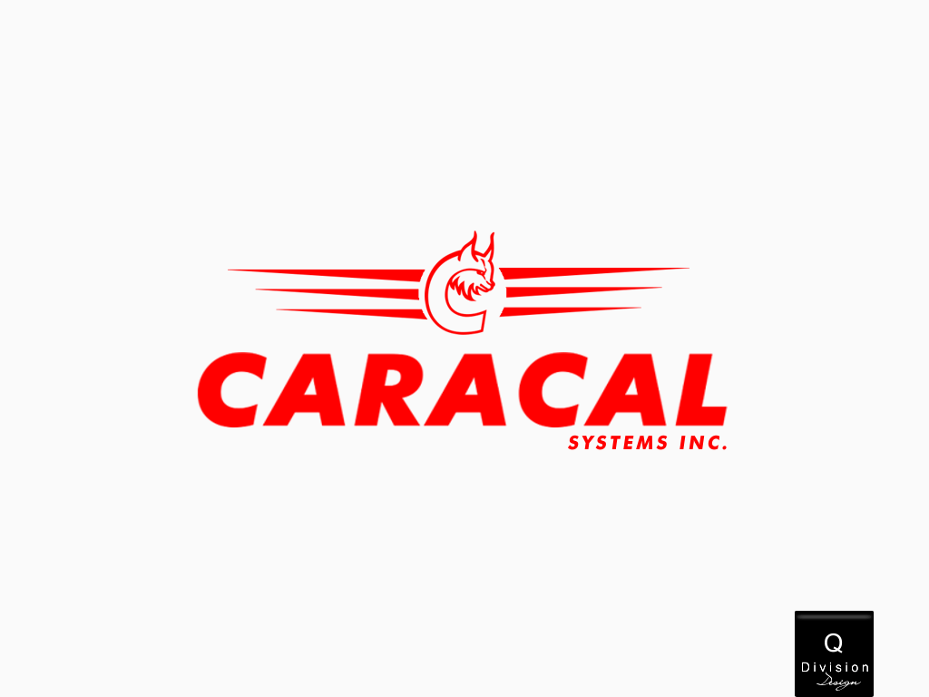 Logo Design by Q_Division_Designs - Entry No. 45 in the Logo Design Contest Inspiring Logo Design for Caracal Systems Inc..