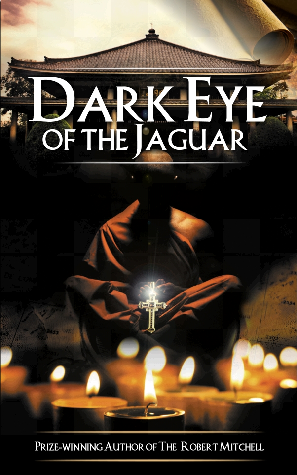 Book Cover Design by Private User - Entry No. 35 in the Book Cover Design Contest Imaginative Book Cover Design for Dark Eye of the Jaguar.
