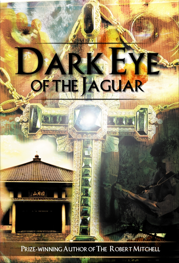 Book Cover Design by Private User - Entry No. 36 in the Book Cover Design Contest Imaginative Book Cover Design for Dark Eye of the Jaguar.