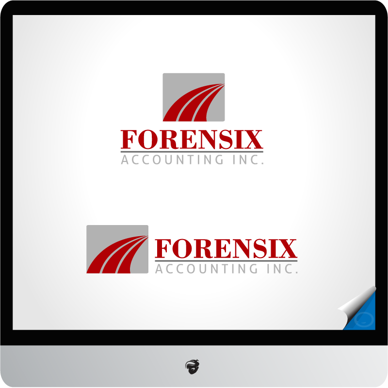 Logo Design by zesthar - Entry No. 28 in the Logo Design Contest FORENSIX ACCOUNTING INC. Logo Design.