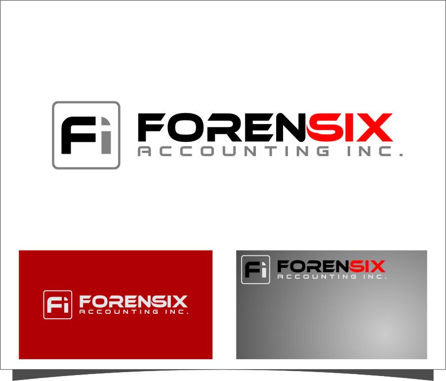 Logo Design by RoSyid Rono-Rene On Java - Entry No. 29 in the Logo Design Contest FORENSIX ACCOUNTING INC. Logo Design.