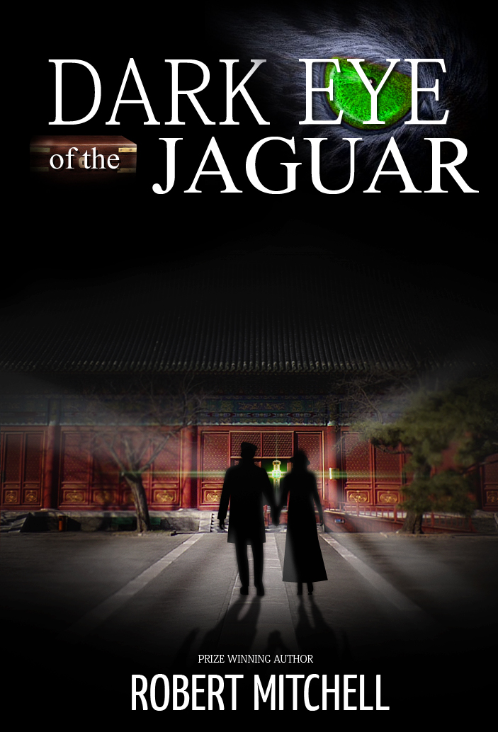 Book Cover Design by Jan Chua - Entry No. 42 in the Book Cover Design Contest Imaginative Book Cover Design for Dark Eye of the Jaguar.