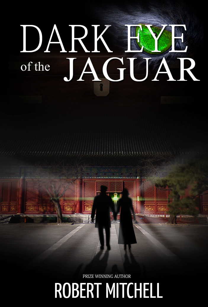 Book Cover Design by Jan Chua - Entry No. 43 in the Book Cover Design Contest Imaginative Book Cover Design for Dark Eye of the Jaguar.