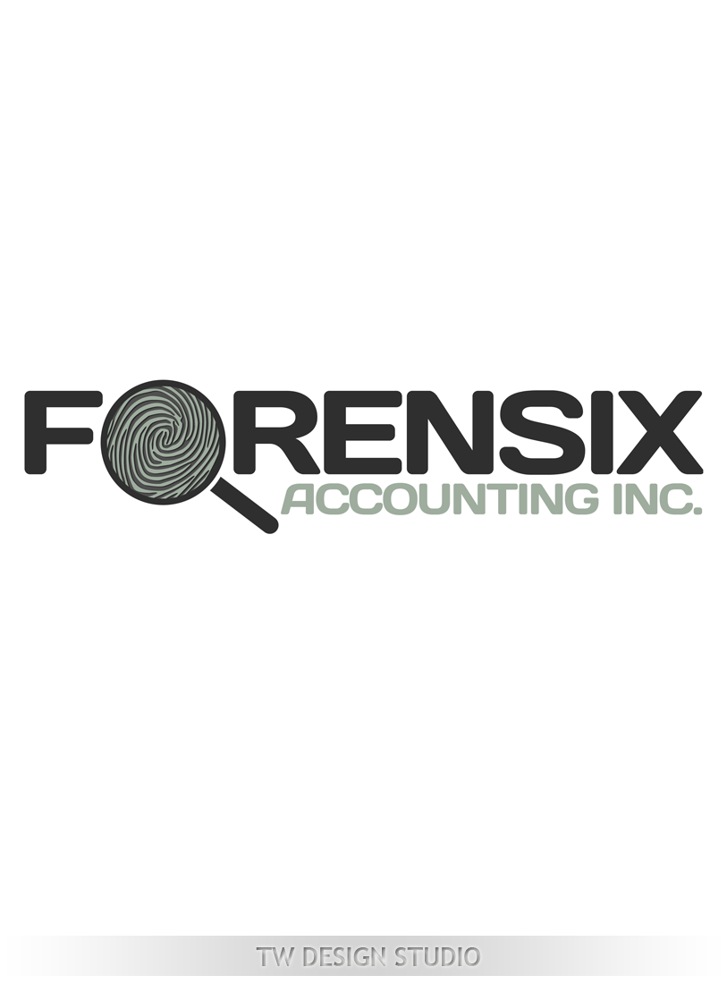 Logo Design by Private User - Entry No. 30 in the Logo Design Contest FORENSIX ACCOUNTING INC. Logo Design.