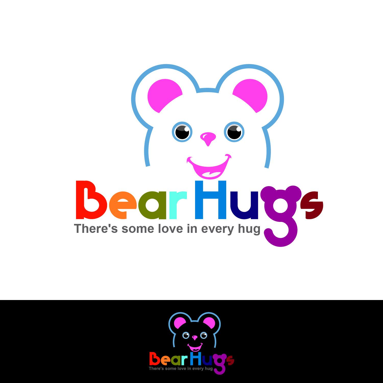 Logo Design by lagalag - Entry No. 16 in the Logo Design Contest Inspiring Logo Design for BearHugs.