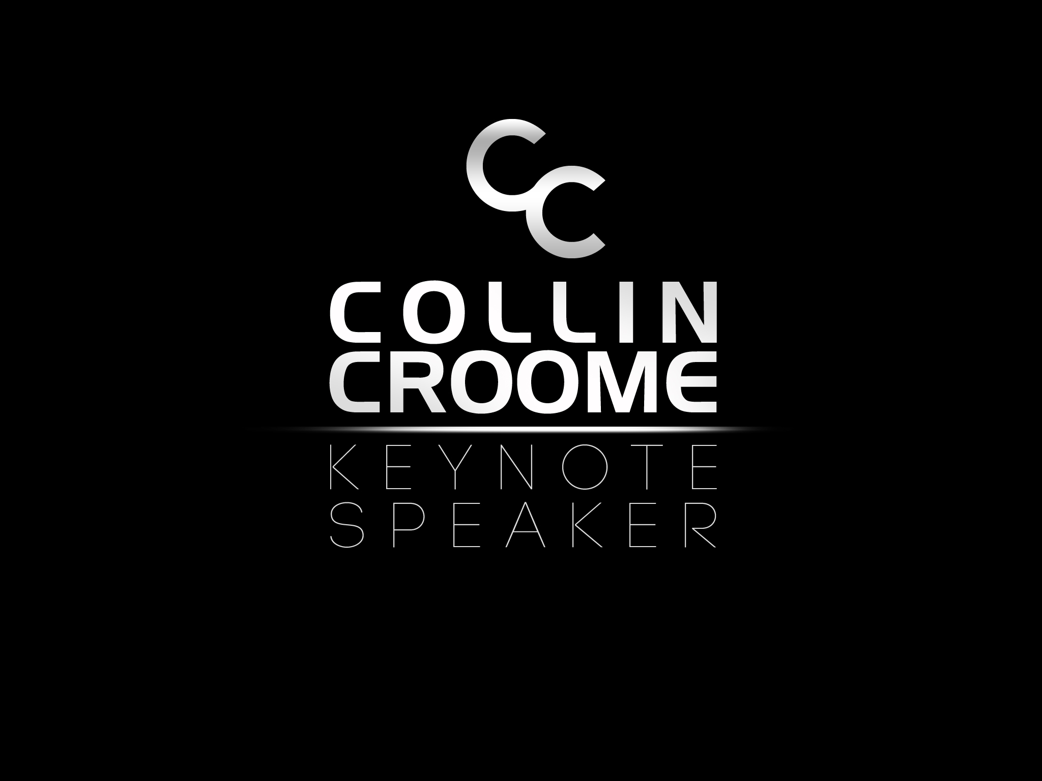 Logo Design by Jan Chua - Entry No. 199 in the Logo Design Contest Modern Logo Design for Collin Croome.