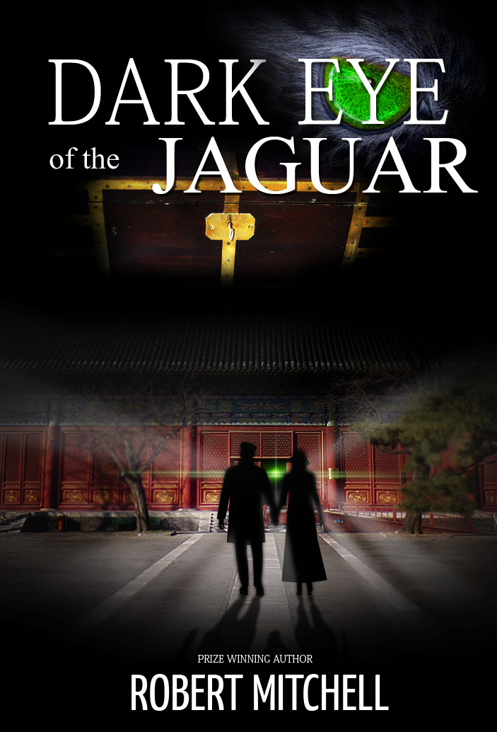 Book Cover Design by Jan Chua - Entry No. 46 in the Book Cover Design Contest Imaginative Book Cover Design for Dark Eye of the Jaguar.