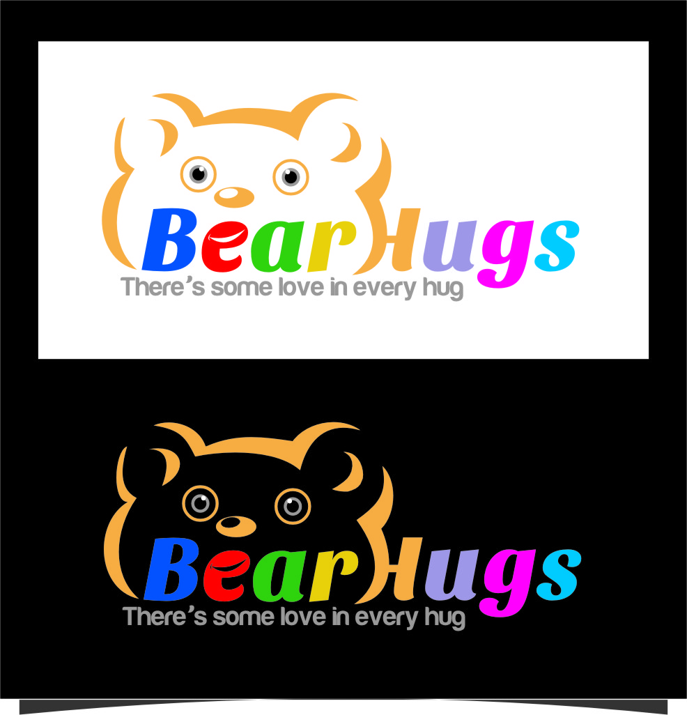 Logo Design by Ngepet_art - Entry No. 20 in the Logo Design Contest Inspiring Logo Design for BearHugs.